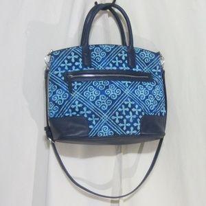 Vera Bradley large hand/shoulder purse, blue/teal